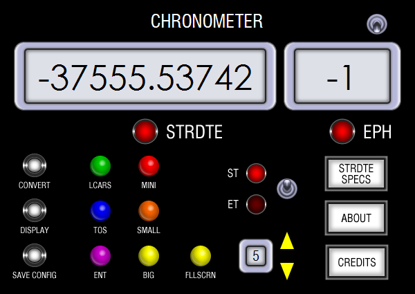 Star Trek Chronometer - A Stardate Clock program, Download